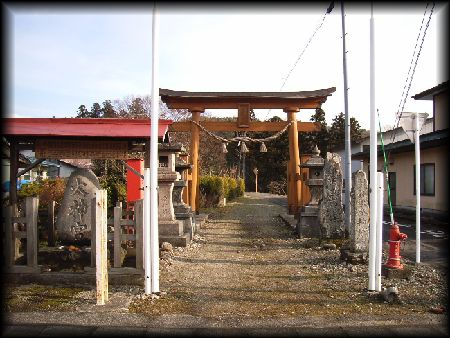 水分神社(七ヶ宿町)