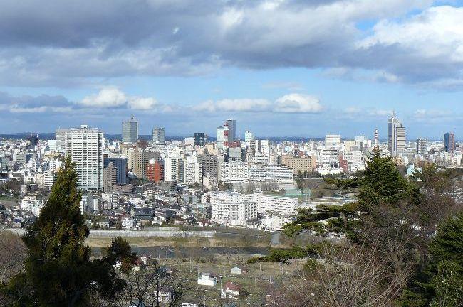 仙台藩62万石:仙台城